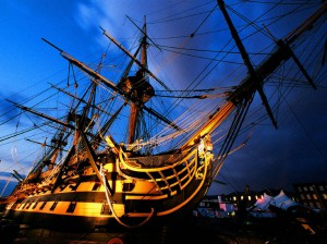 A picture of HMS Victory