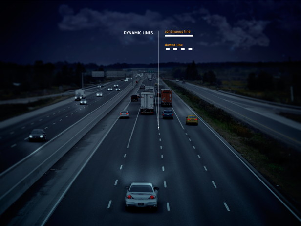 Smart Highway, Dynamic Lines, Daan Roosegarde, Heijiman