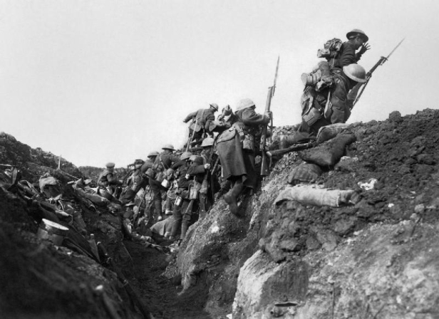 Battle of the Somme, World War One, Western Front, Trench Warfare, First World War, Germany, Britain, River Somme, Somme Offensive, 1916, France