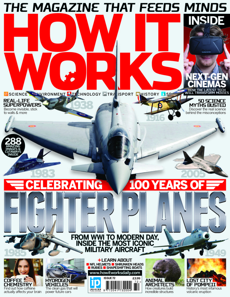 Celebrate 100 years of fighter planes with Issue 72 of How It Works