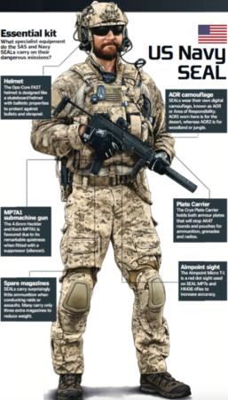 The US Navy SEALs vs the British SAS