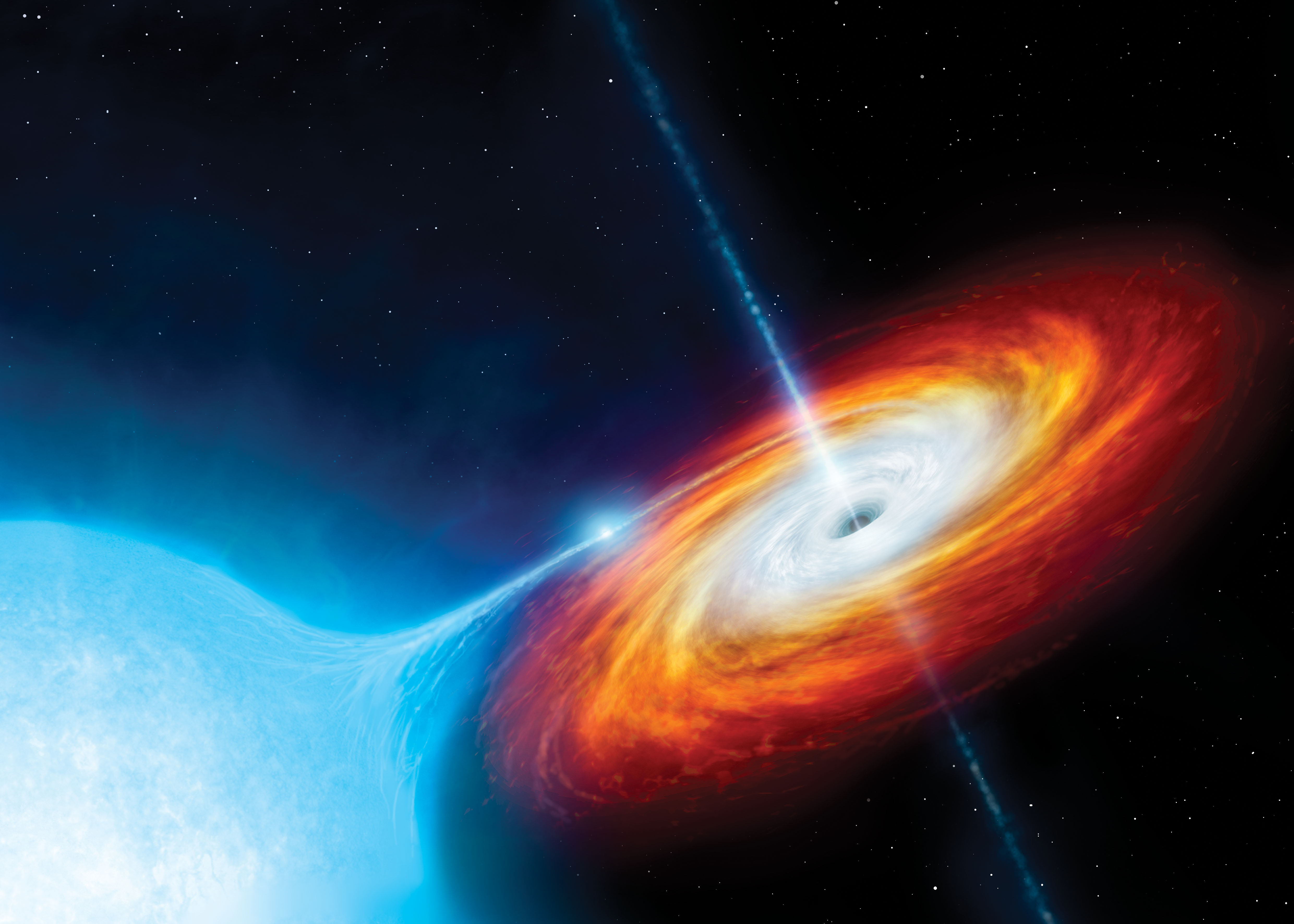 Extreme gravity can tear whole star systems to pieces