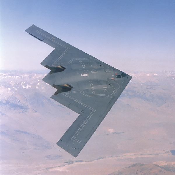b 2 stealth bomber how it works