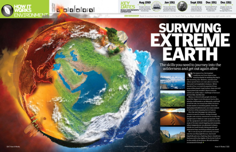 How it Works, magazine prevue, issue 61, Surviving Extreme Earth