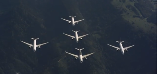Airbus, A350, formation, new, video, fighter jet, technology, transport, fly