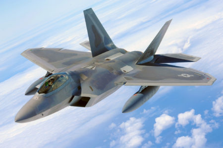 Lockheed Martin F-22 Raptor Fighter Jet