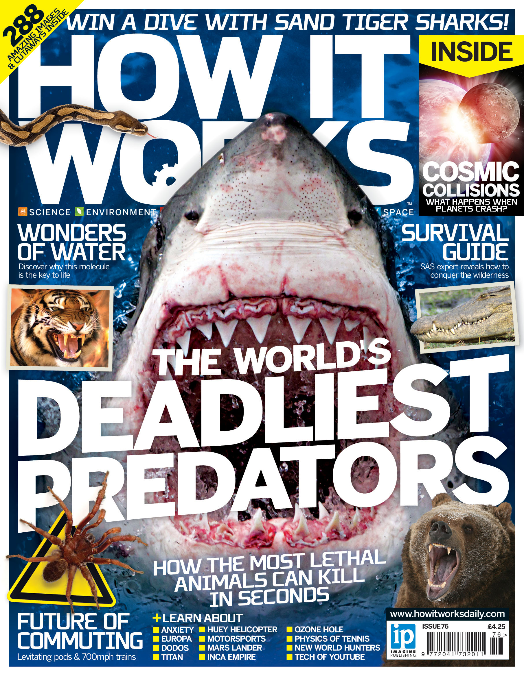 How It Works Issue 76 CoverThe World's Deadliest Predators